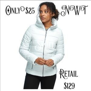 Brand New Small White Stoic Insulated Jacket